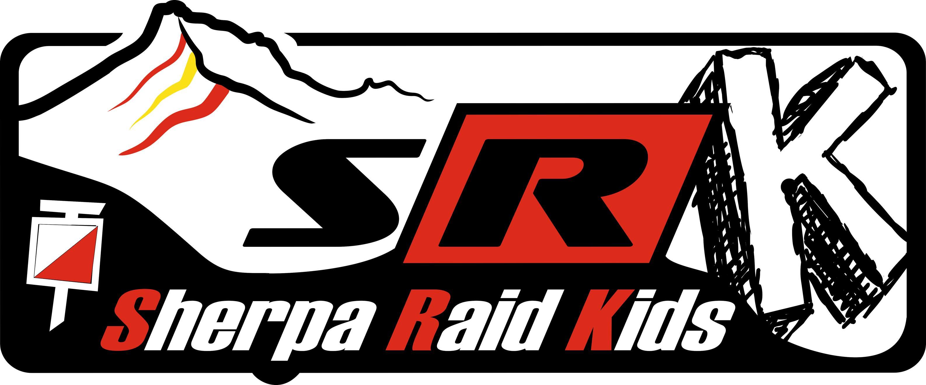logo sherpa raid kids